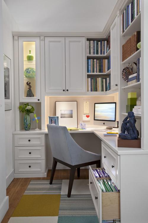 10 idee per arredare il tuo studio (fotogallery) ? idealista/news - Arredamento Studio Casa Moderno