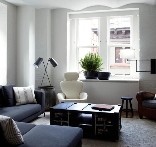10 idee per nascondere un termosifone e trasformarlo in un - Objetos decorativos salon ...