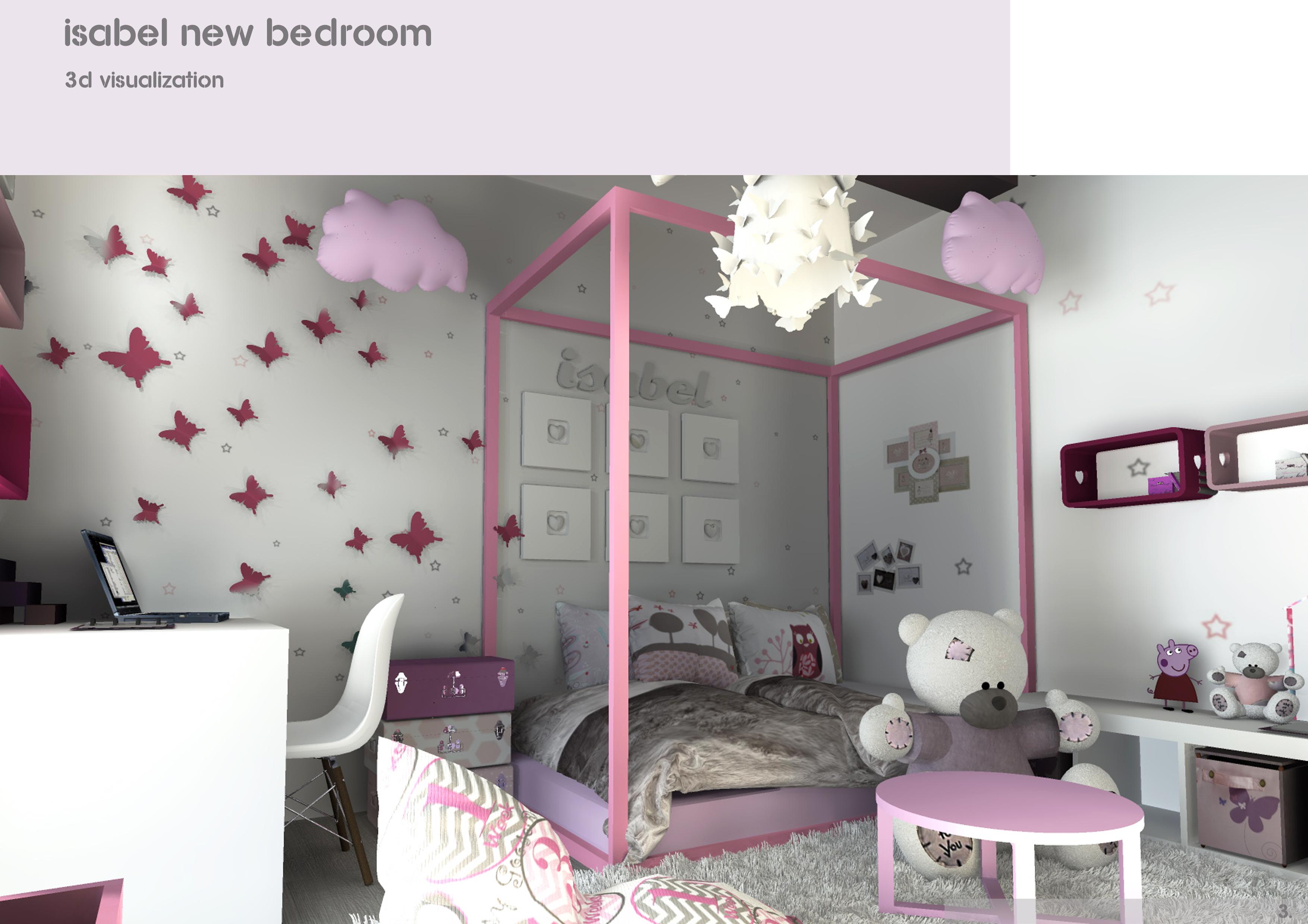 Stanze Da Sogno Per Ragazze Lilla : Proposte per arredare la stanza da letto dei bambini