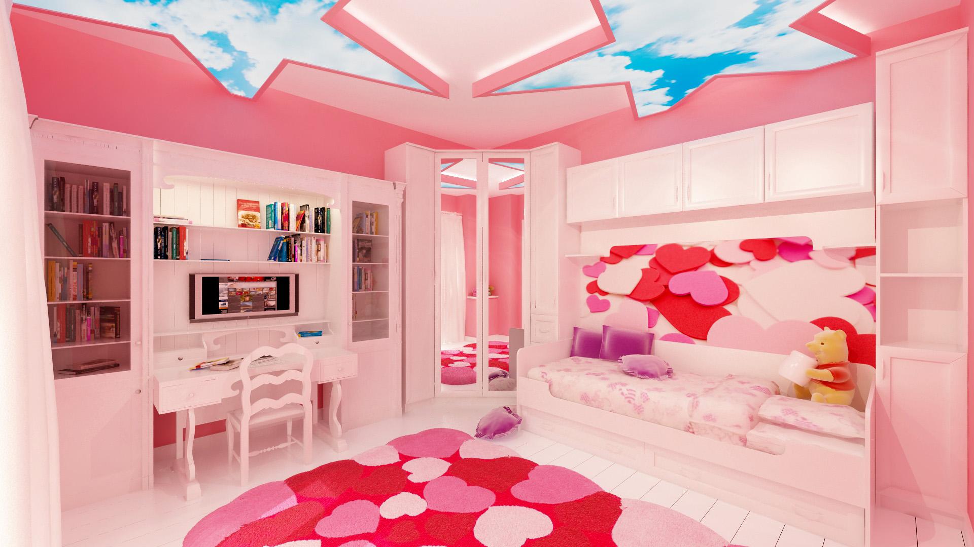 9 proposte per arredare la stanza da letto dei bambini - Camere da letto per bambine ...