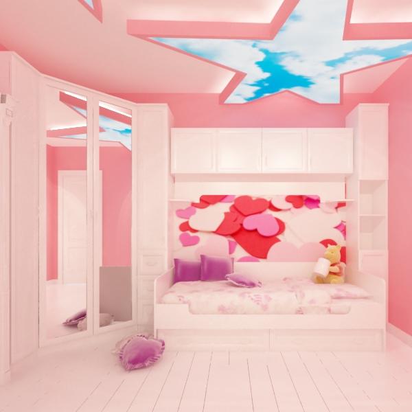 9 proposte per arredare la stanza da letto dei bambini for Oggetti per arredare
