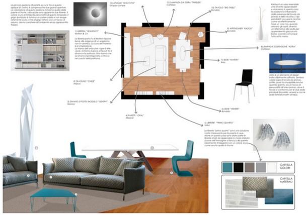 9 idee per arredare il soggiorno e renderlo accogliente e for Idee per arredare un ufficio