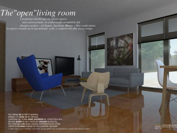 9 idee per arredare il soggiorno e renderlo accogliente e for Arredare moderno e antico