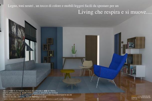 9 idee per arredare il soggiorno e renderlo accogliente e - Arredare casa con 10000 euro ...