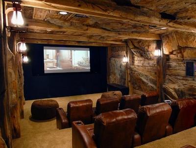 Le idee pi stravaganti per realizzare una sala - Realizzare sala cinema in casa ...