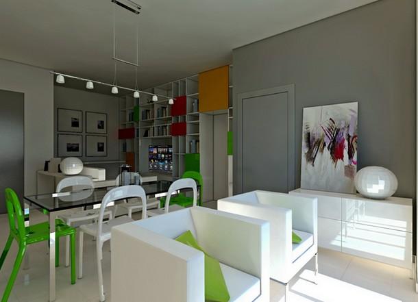 Come trasformare in modo economico un salone freddo e for Progettare un salone