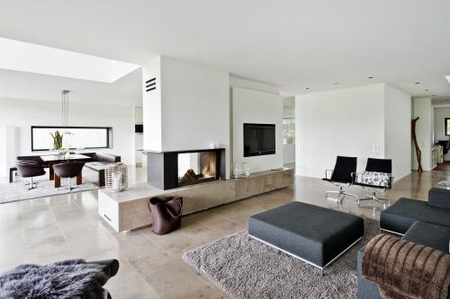 Come trasformare in modo economico un salone freddo e - Come riscaldare casa in modo economico ...