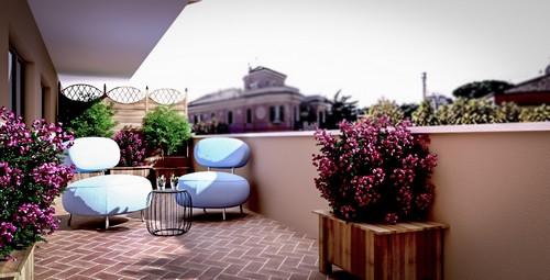 Arredare terrazzo appartamento u idee di immagine di casa