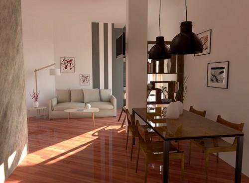 9 idee per arredare il soggiorno e renderlo accogliente e for Casa moderna ma calda