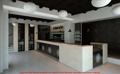 8 idee di design per realizzare un bar trendy e funzionale for Ristrutturare bancone bar