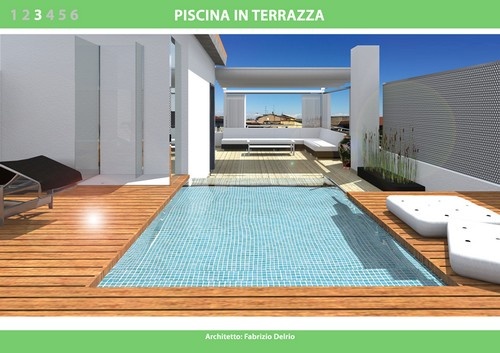 Awesome Piscina Terrazzo Ideas - Amazing Design Ideas 2018 ...