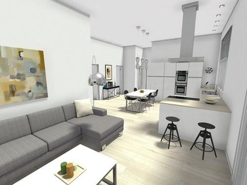 Idee Arredo Zona Giorno.19 Idee Per Arredare Un Appartamento Per Studenti Fotogallery