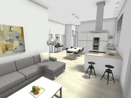 19 idee per arredare un appartamento per studenti - Arredo interni idee ...