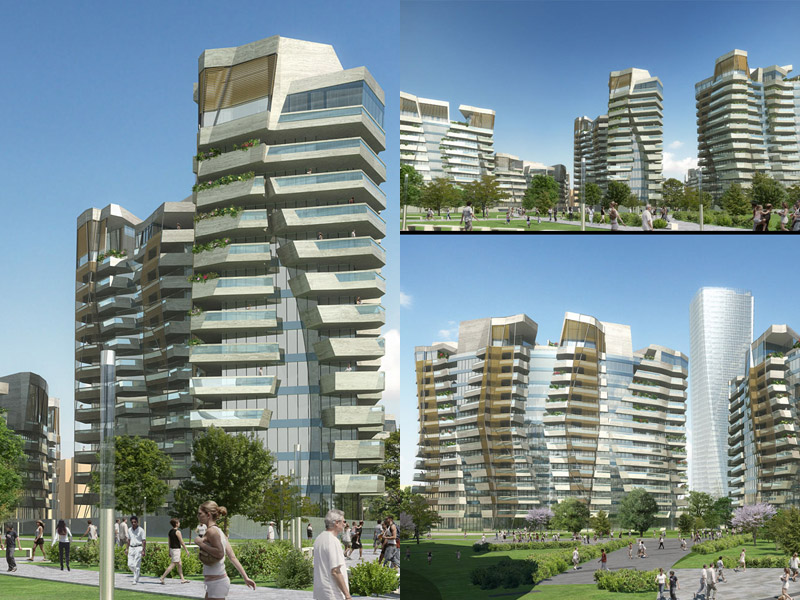 Ecco come sar la torre libeskind il grattacielo che completer lo skyline di citylife - Casa base milano ...