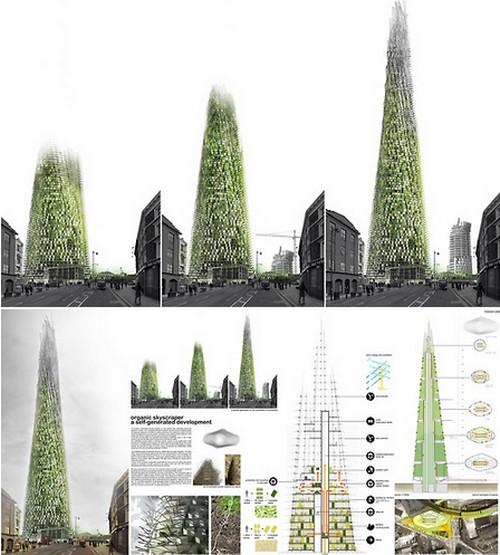 grattacielo organico