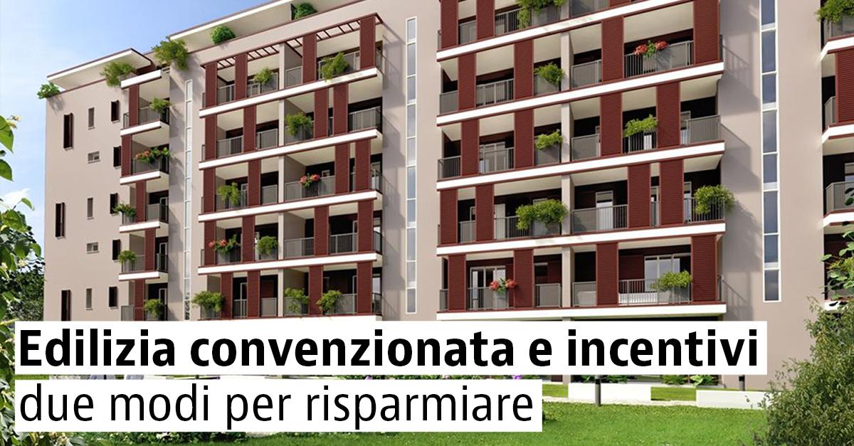 Case nuove in vendita con incentivi o in edilizia convenzionata
