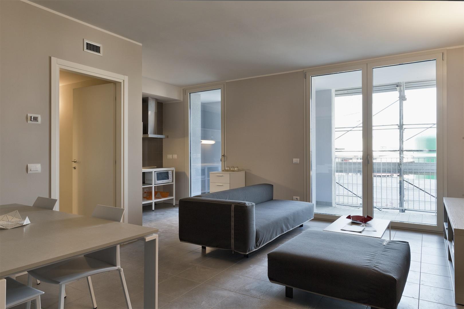 Cos saranno gli appartamenti del villaggio expo di for Appartamenti arredati milano