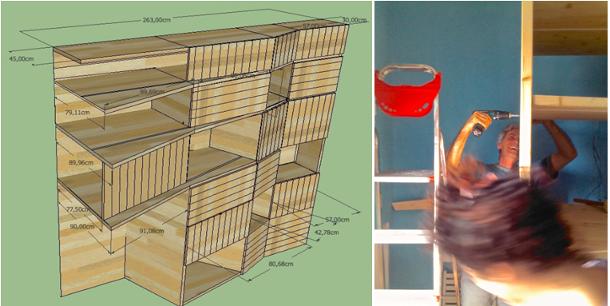 Amazing funzionale accogliente e soprattutto creato con for Arredare casa con materiali di recupero