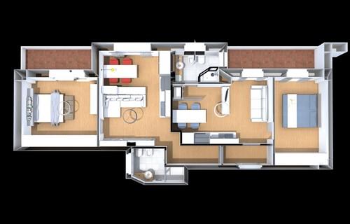 21 idee per frazionare un appartamento fotogallery for Piccoli progetti di casa gratuiti
