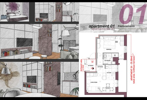21 idee per frazionare un appartamento fotogallery for Piccoli progetti di casa castellana