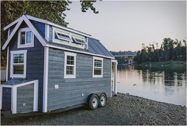 Con la casa a rimorchio un 39 abitazione roulotte efficiente for Abitazione di lusso