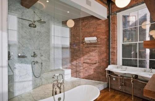 Una parete di mattoni a vista per dare un tocco rustico e accogliente alla casa (fotogallery ...