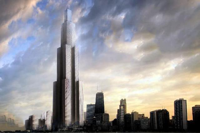 Grattacielo costruito in poche settimane