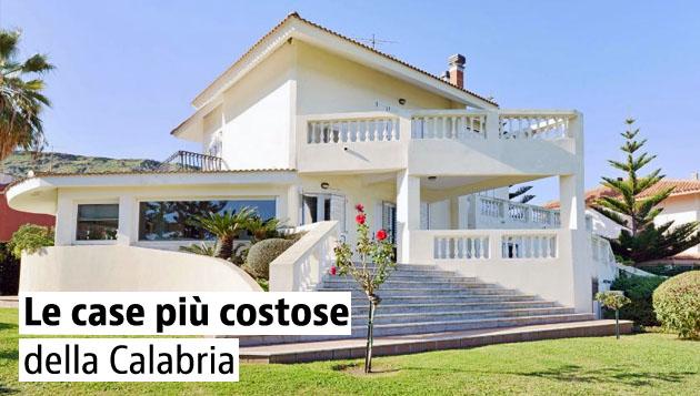 Le case più care della Calabria