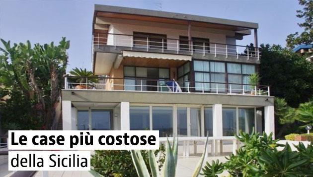 Le case più care della Sicilia