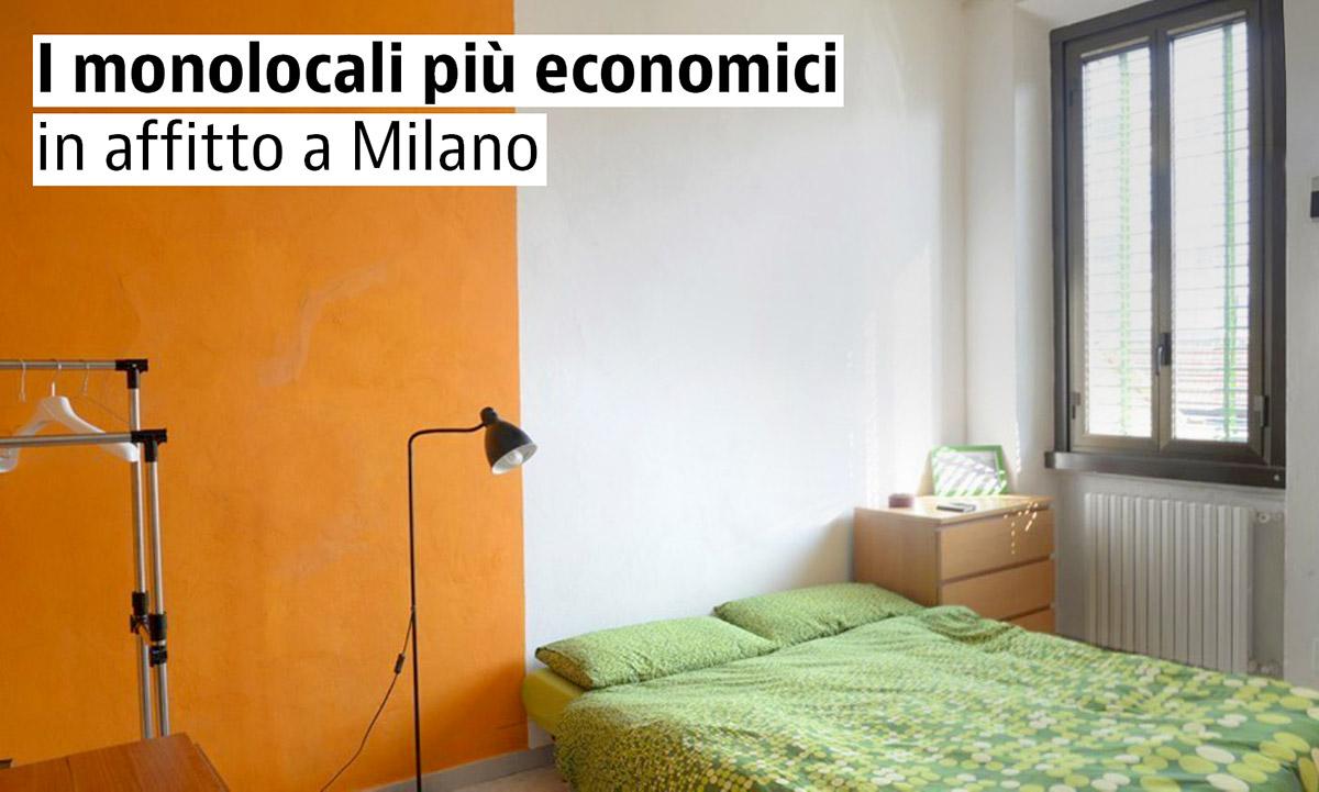 i monolocali in affitto pi economici di milano