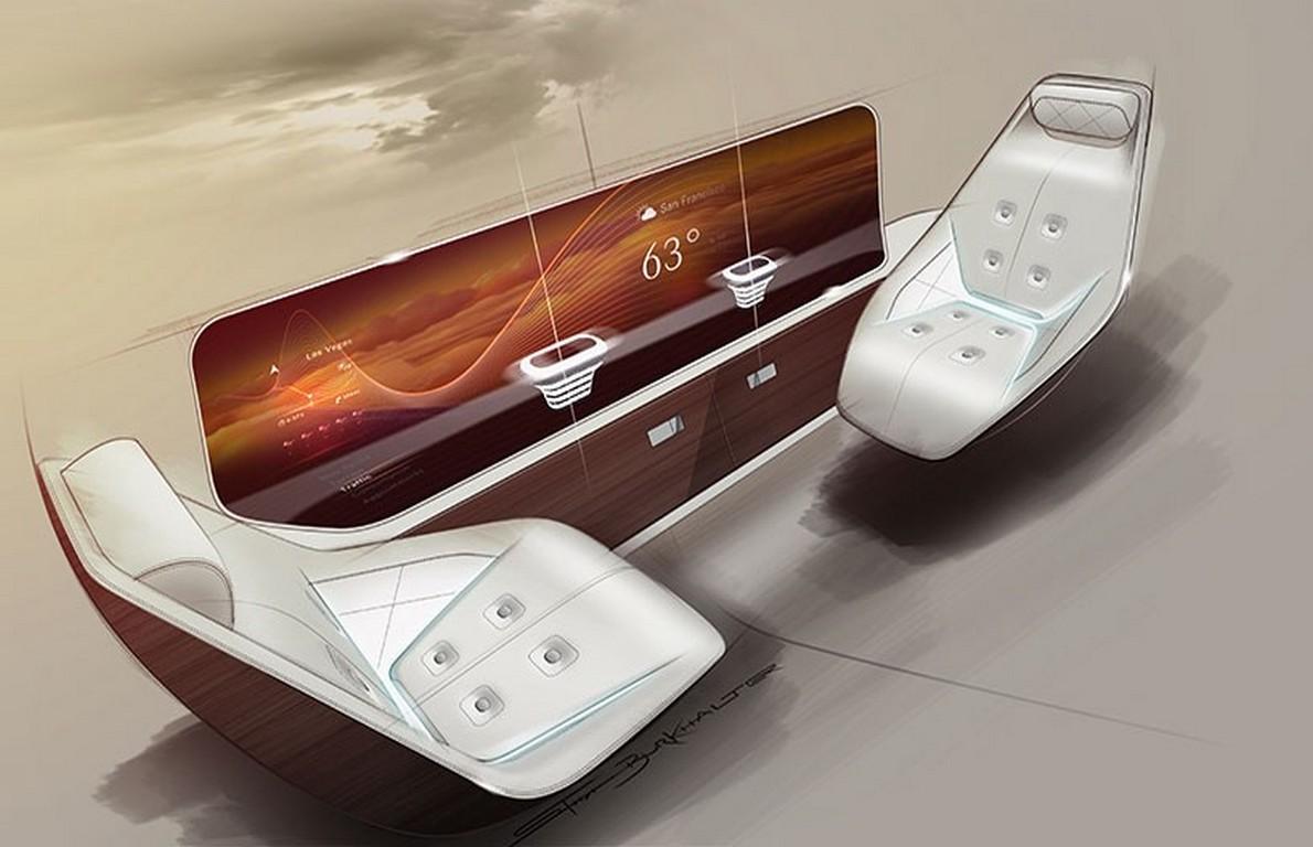 Aereo Privato Interni : Saranno così gli interni dell aereo più lussuoso del mondo