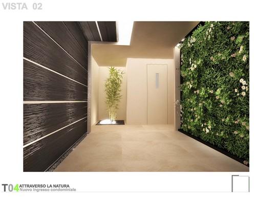 12 proposte per un innovativo ingresso condominiale for Rizzo arreda