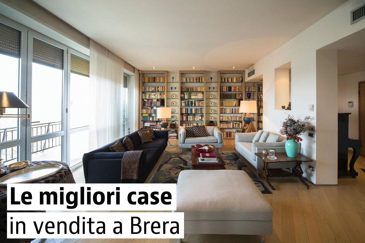 Case di lusso in vendita in zona brera a milano for In vendita a milano
