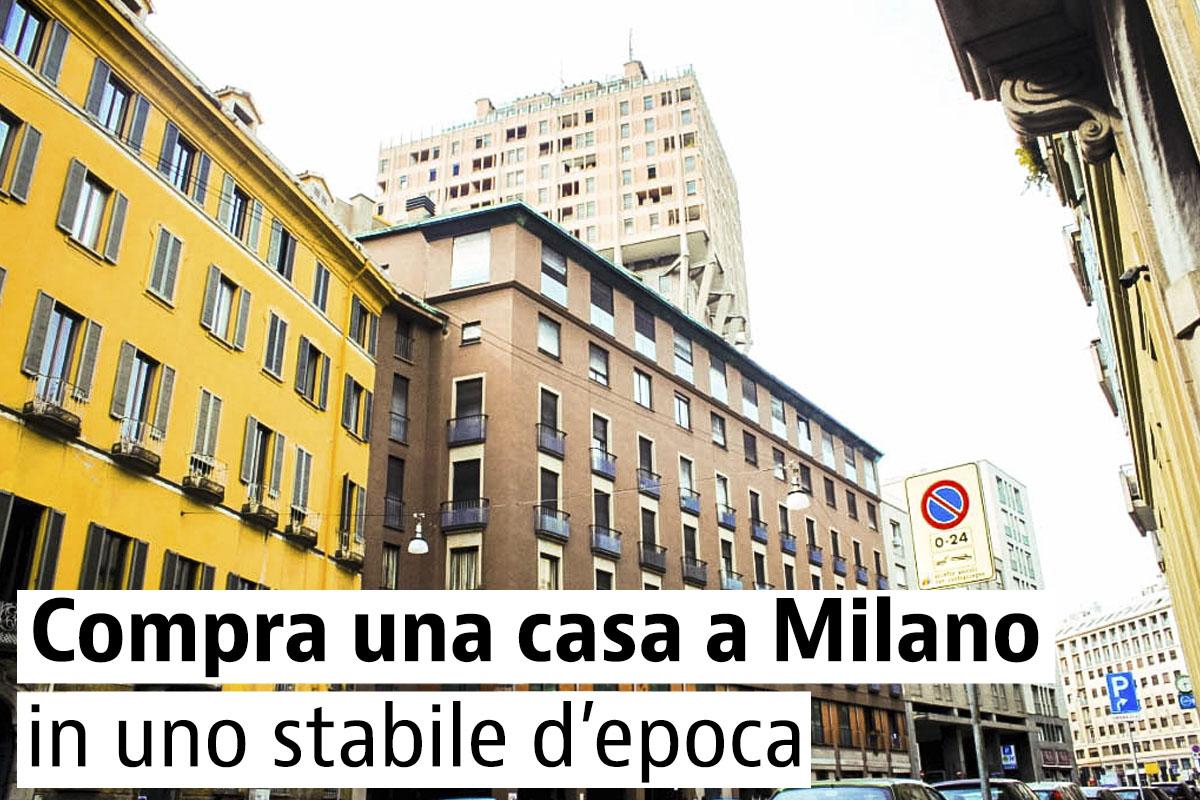 Le più belle case d'epoca in vendita a Milano