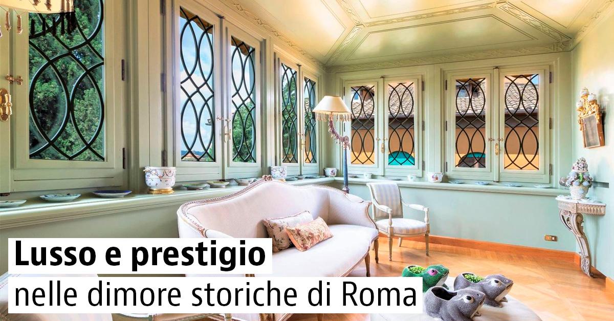 Case di lusso in vendita a Roma