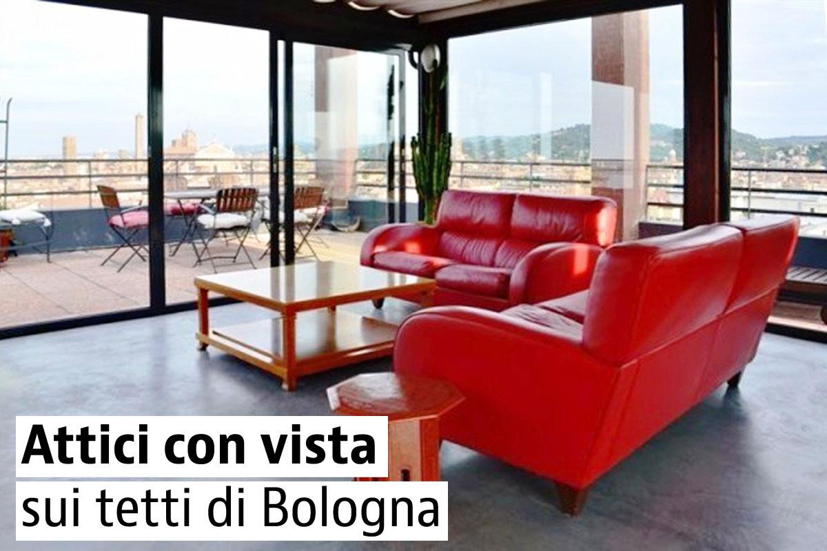 10 attici con vista in vendita a Bologna