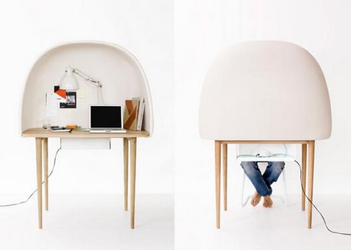 Piccolo Ufficio In Casa : Lavorare a casa il vostro ufficio domestico è triste e grigio