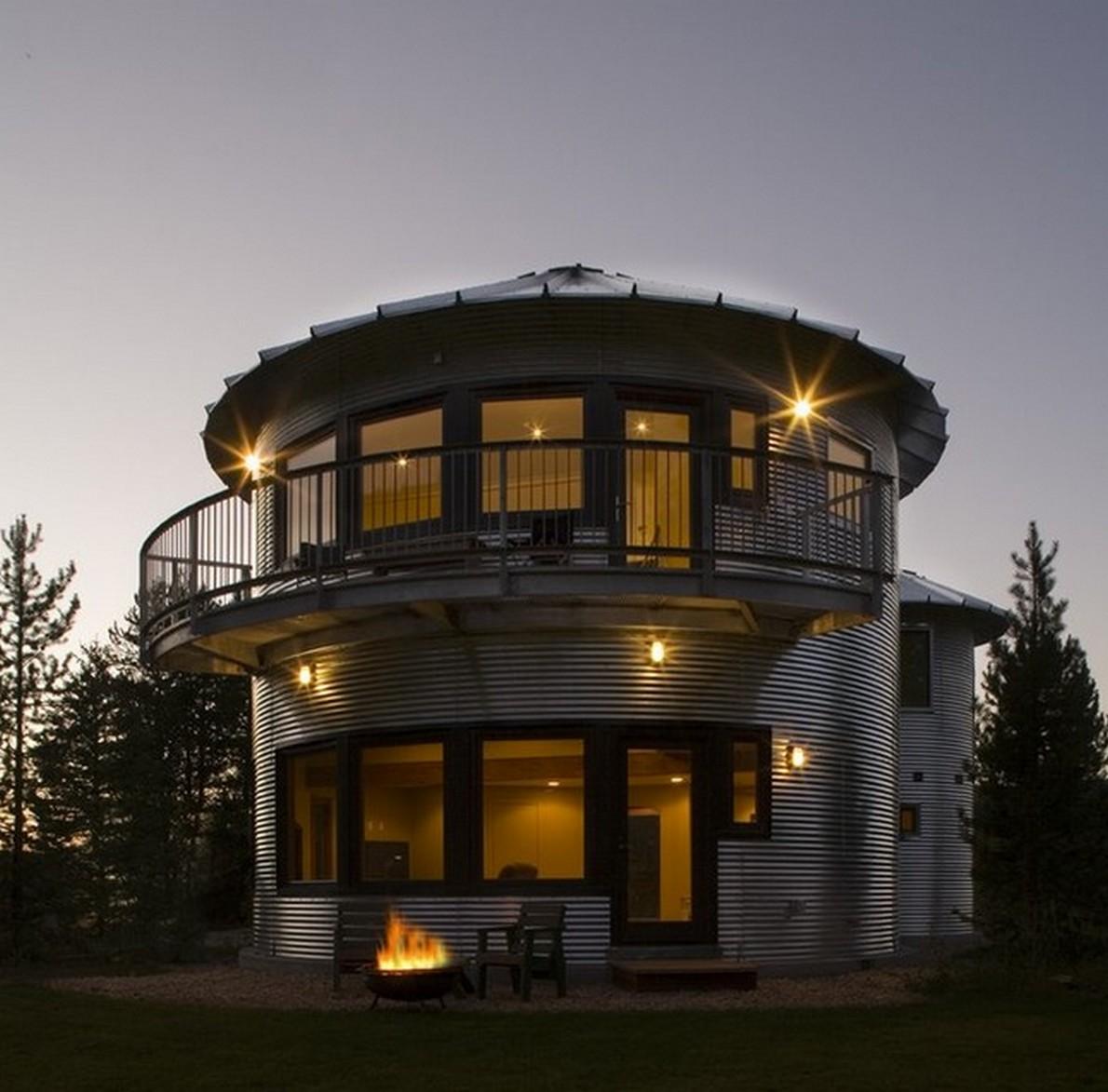 Nuove spettacolari case costruite con la spazzatura - Contenitori spazzatura casa ...