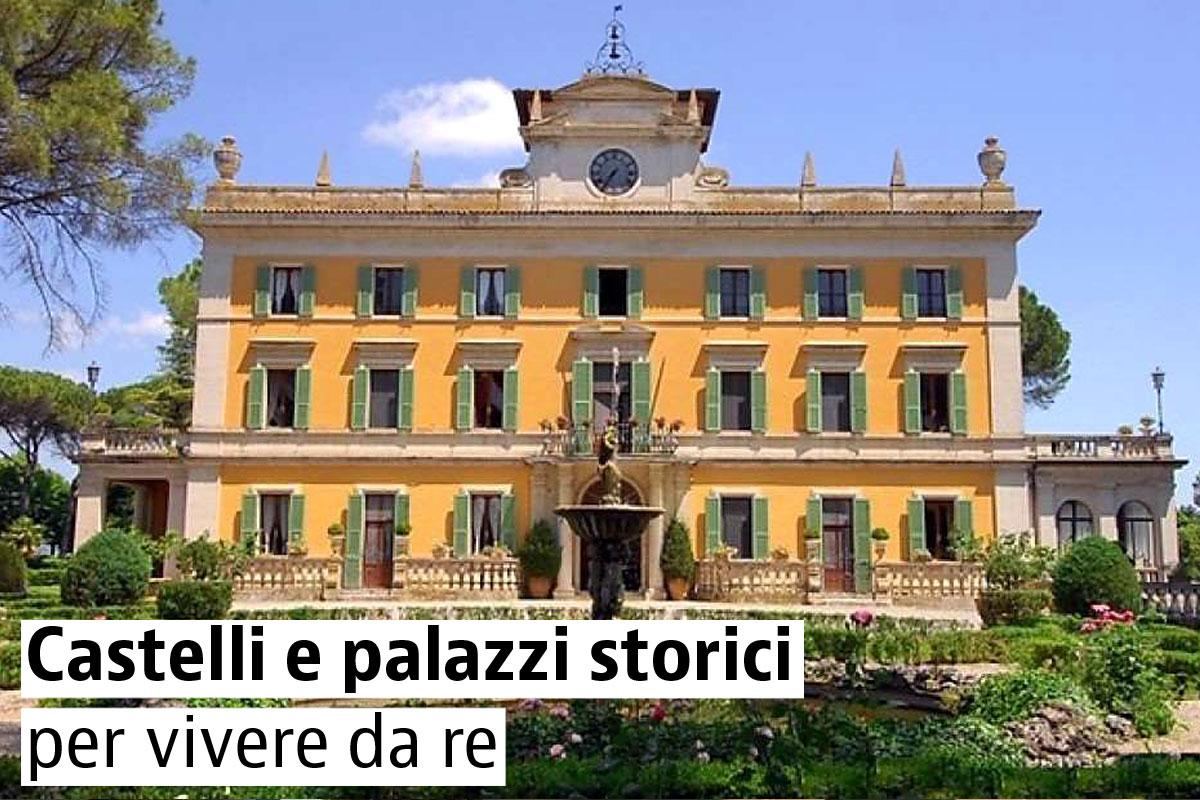 Castelli e dimore storiche in vendita in italia for Case in affitto a palermo arredate