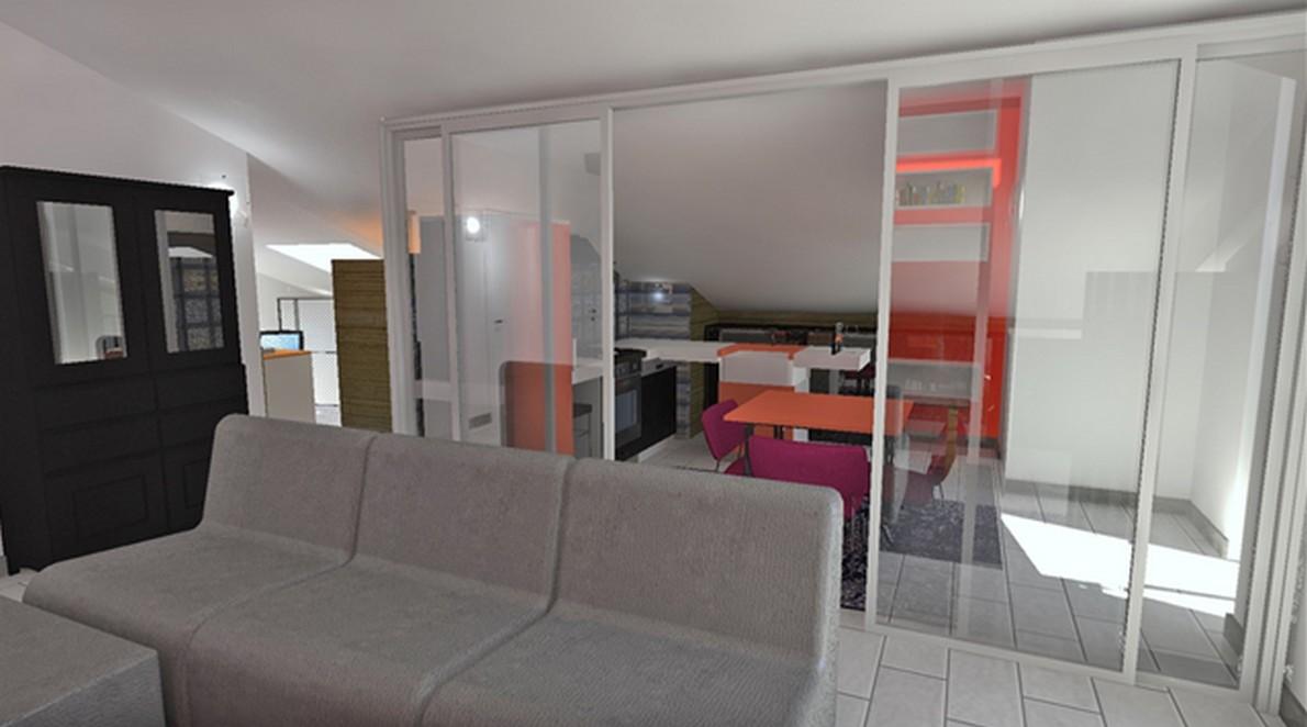 Spostare La Cucina Sul Balcone progettare un attico per progettare una famiglia