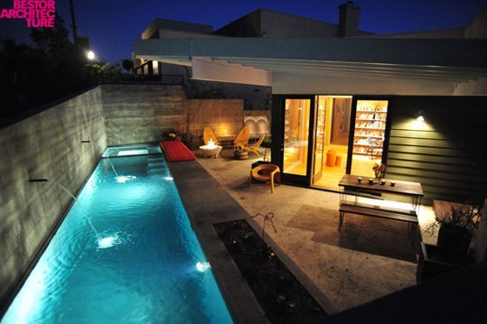 Idee per decorare casa come adattare una piscina anche a for Piccoli piani di casa con piscina coperta