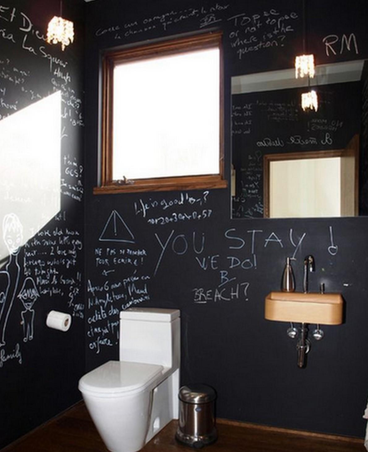 Ecco 10 idee creative per trasformare i mobili e le pareti in lavagne giganti foto idealista - Idee deco woonkamer foto ...