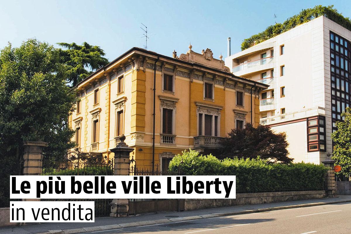 Le pi belle ville liberty in vendita idealista news for Gli interni delle case piu belle d italia