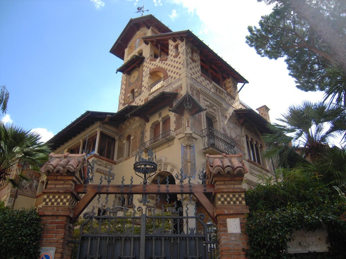 Il quartiere copped a roma tra simboli fascino e for Piani casa delle fate