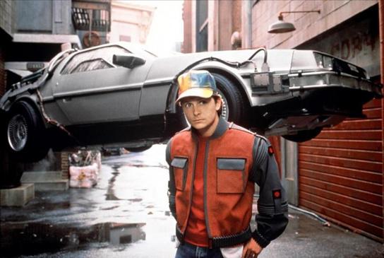 Michael J. Fox in Ritorno al Futuro 2