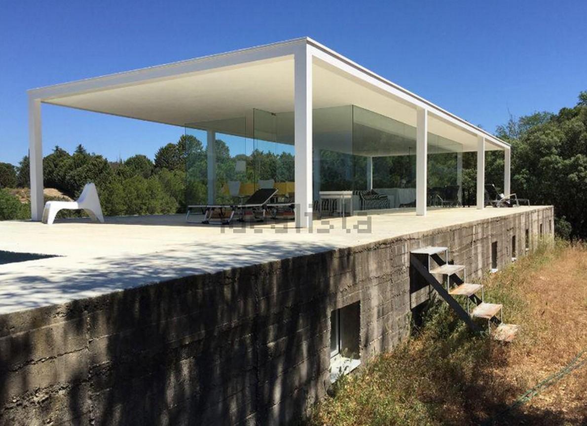 La casa de blas il capolavoro di campo baeza ispirato a for Ville architetti famosi