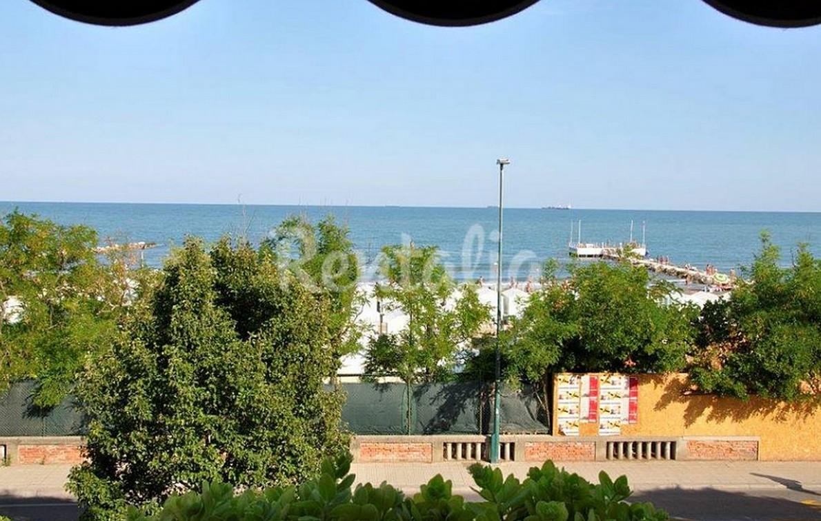 vista dal balcone della casa sul lido di Venezia