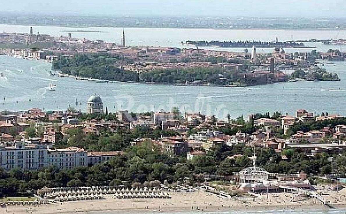 vista panoramica del lido di Venezia