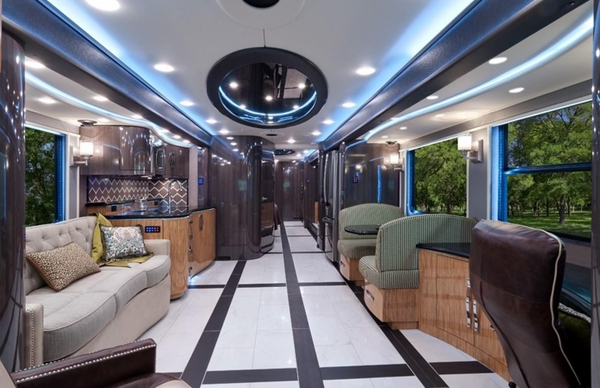 Una casa di lusso mobile da milionari