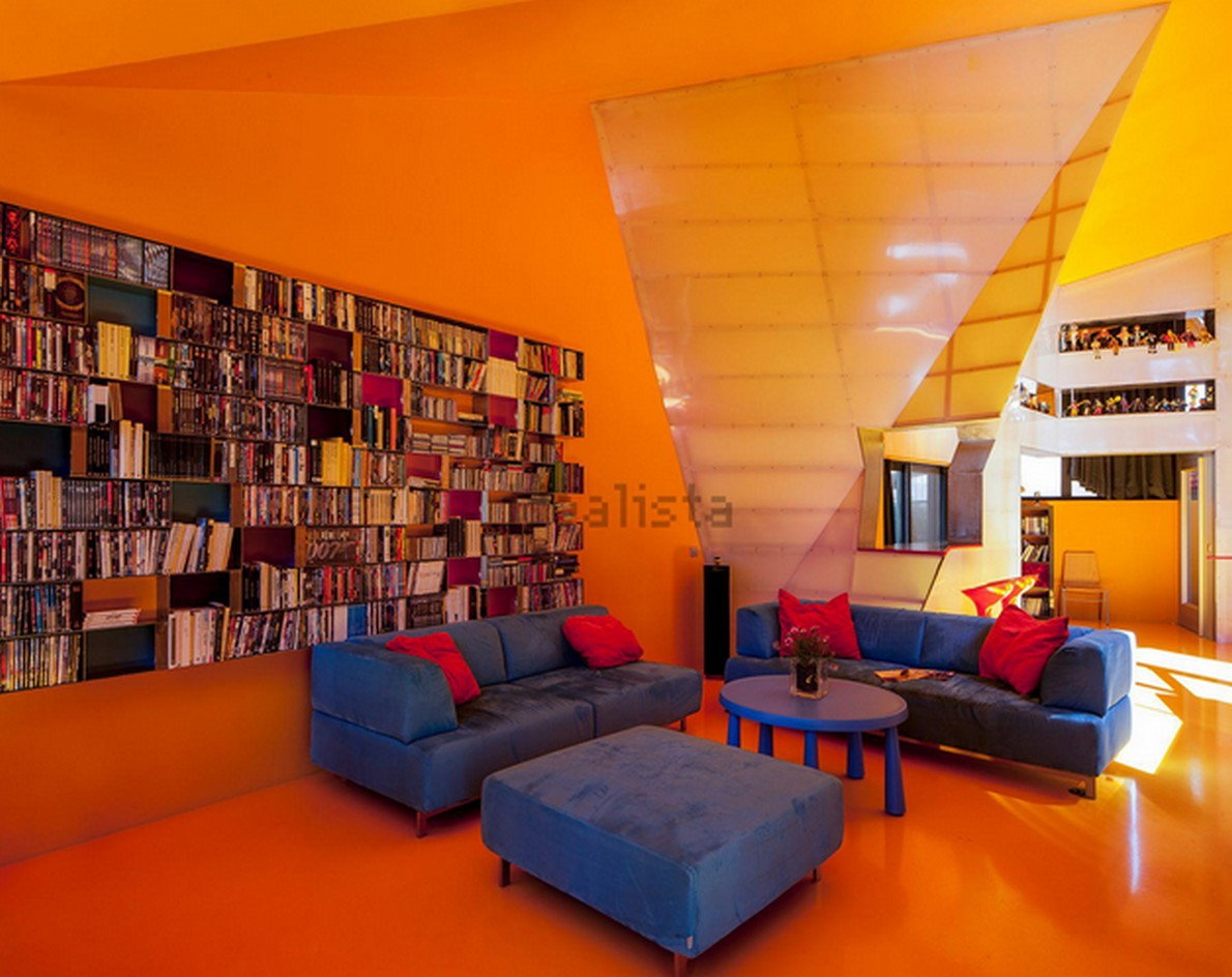 Il salotto di design della casa